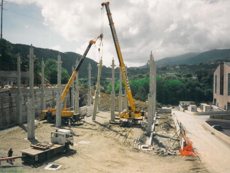 Giumma 1994 inizio lavori