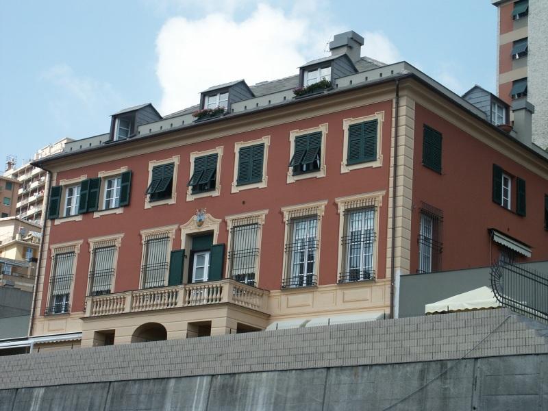 Villa Montebruno facciata