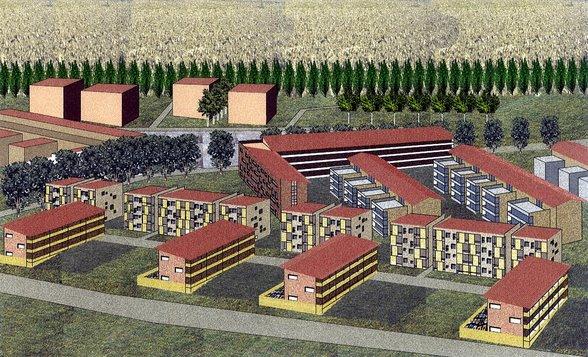 Progettazione Urbanistica nuovo complesso ad Alessandria
