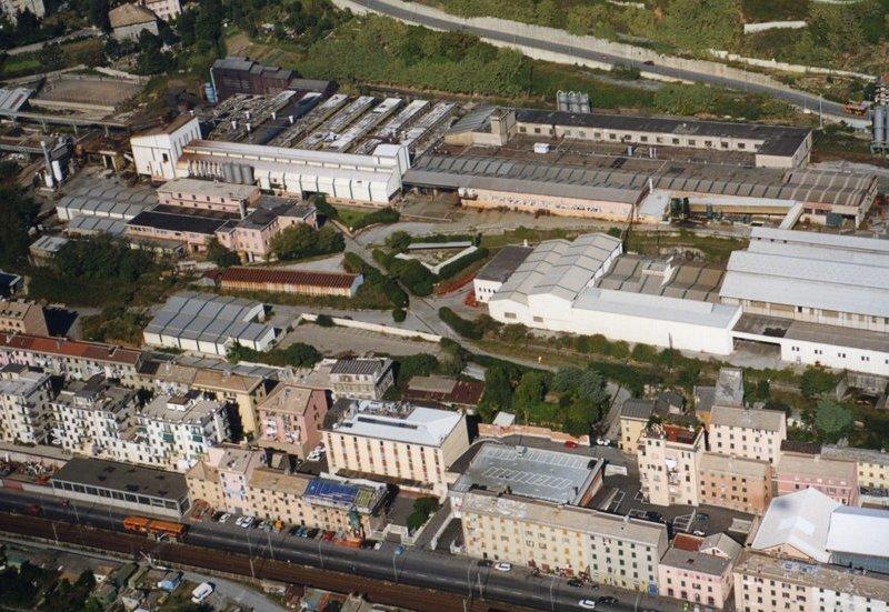 Trasformazione Ex fonderie San Giorgio