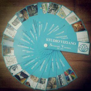 Brochure aperta Studio Viziano