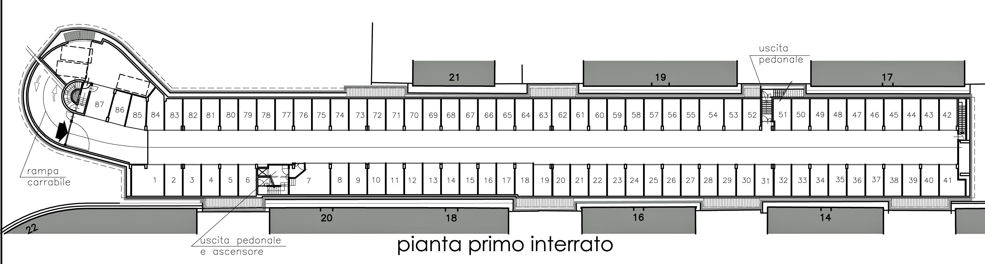 Parcheggio di via montezovetto a settembre ripartono i - Parcheggio interrato ...
