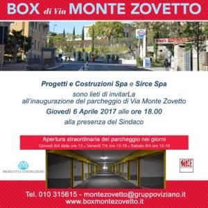 Invito Inaugurazione Box Monte Zovetto